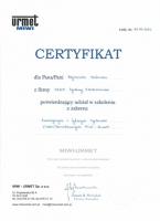 certyfikat-urmet